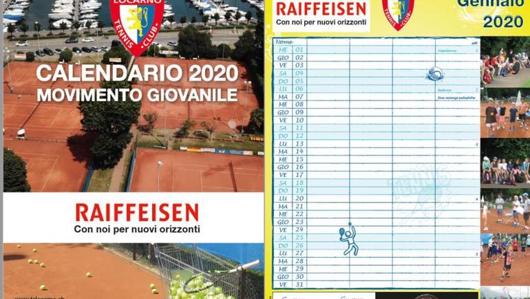 Ecco il calendario TCL 2020!