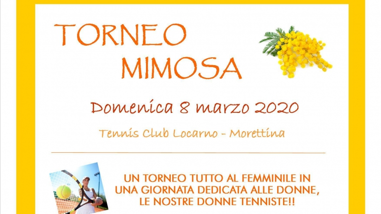 Torneo Mimosa l'8 marzo