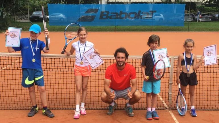 Torneo Kids Tennis verde!