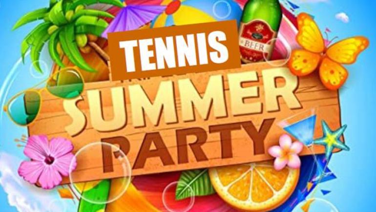 Tennis Summer Party